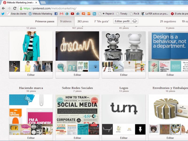 Pinterest de Metodo Marketing