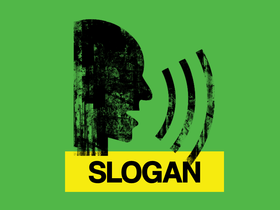 significado de slogan