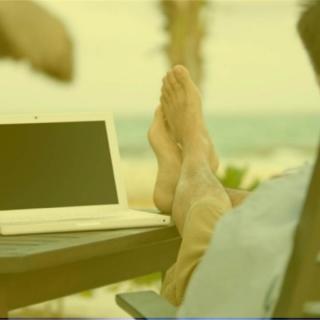 Redes Sociales desde la Playa (Logroño)
