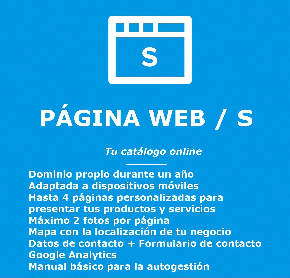 Pagina web - catalogo online