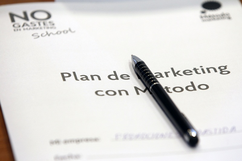 Plan de marketing tutelado con Método