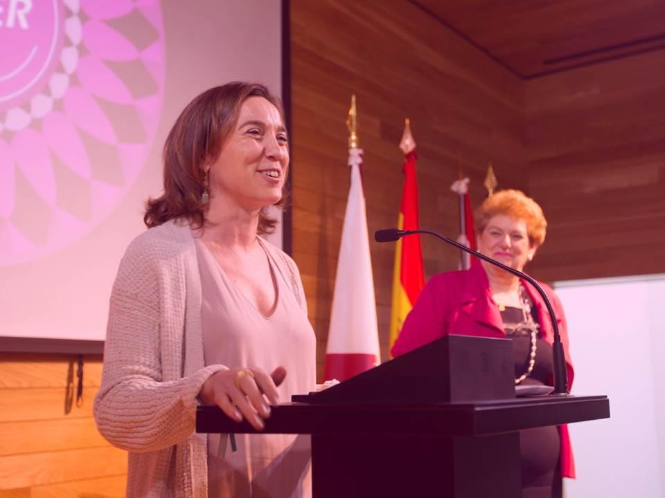 Alcaldesa de Logroño Evento Día de la mujer 2015