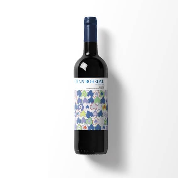 Etiqueta vino Bohedal