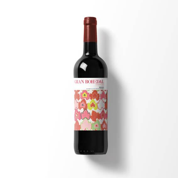Etiqueta de Vino Bohedal