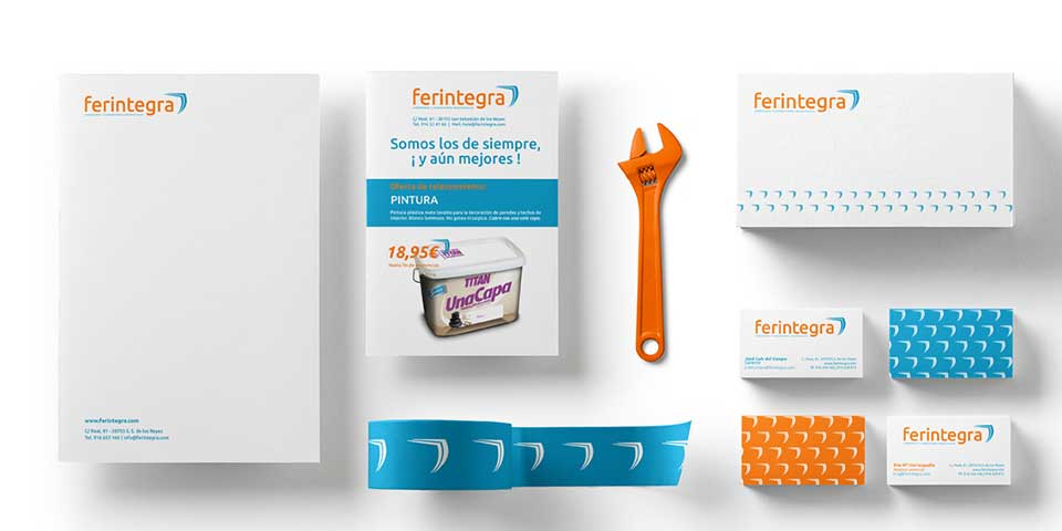 Diseño papelería ferintegra
