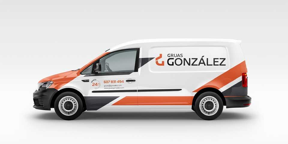 Rotulación Grúas González